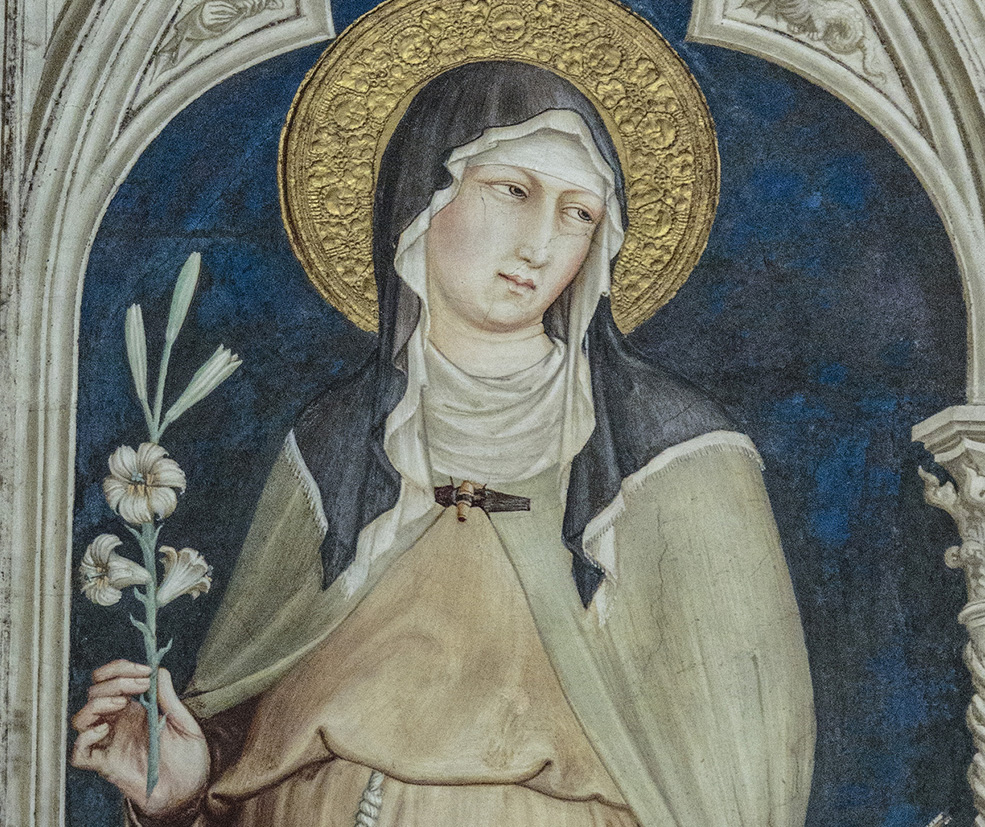 Meet St. Clare of Assisi: A little holy stubbornness • Saints for kids