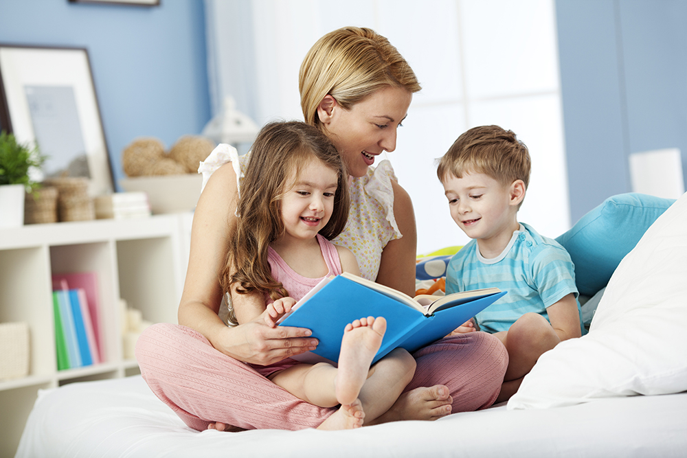 Make bedtime sacred story time with your kids