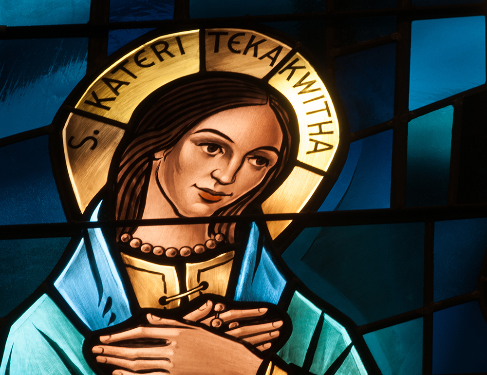 Meet St. Kateri Tekakwitha! • Saints for kids