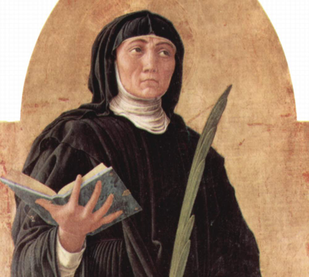 Saint Scholastica • Saint stories
