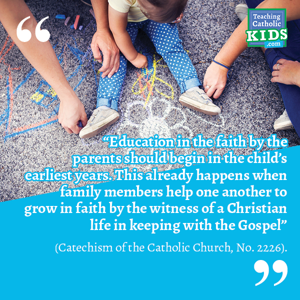 Faith talk for families: Education in faith