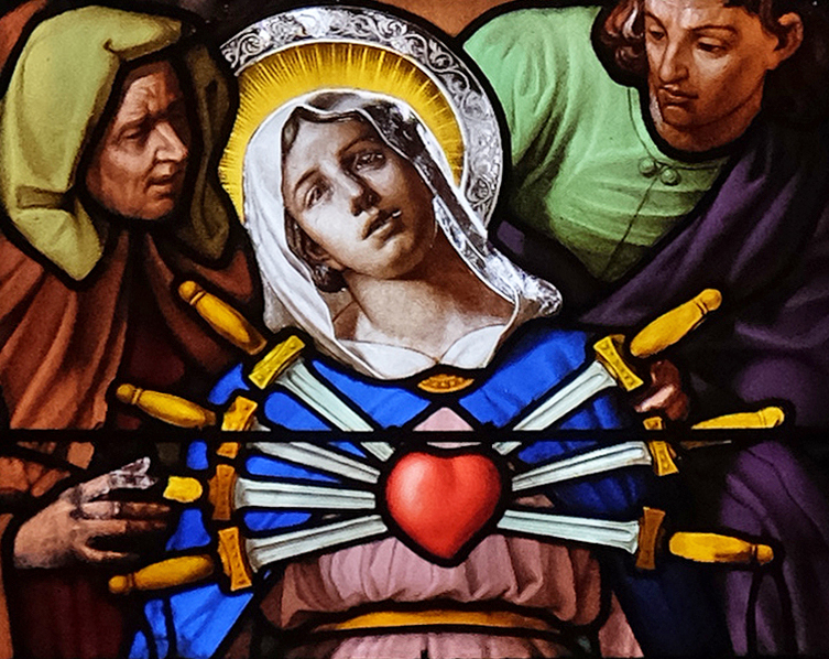The Seven Sorrows of Mary • Monthly devotion for September