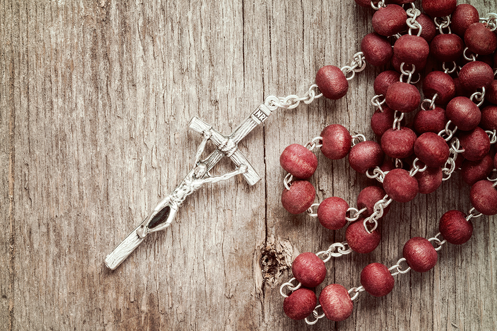 The Holy Rosary • Monthly devotion for October