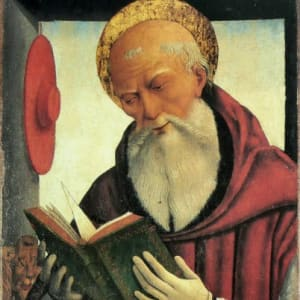 St. Jerome and the Bible