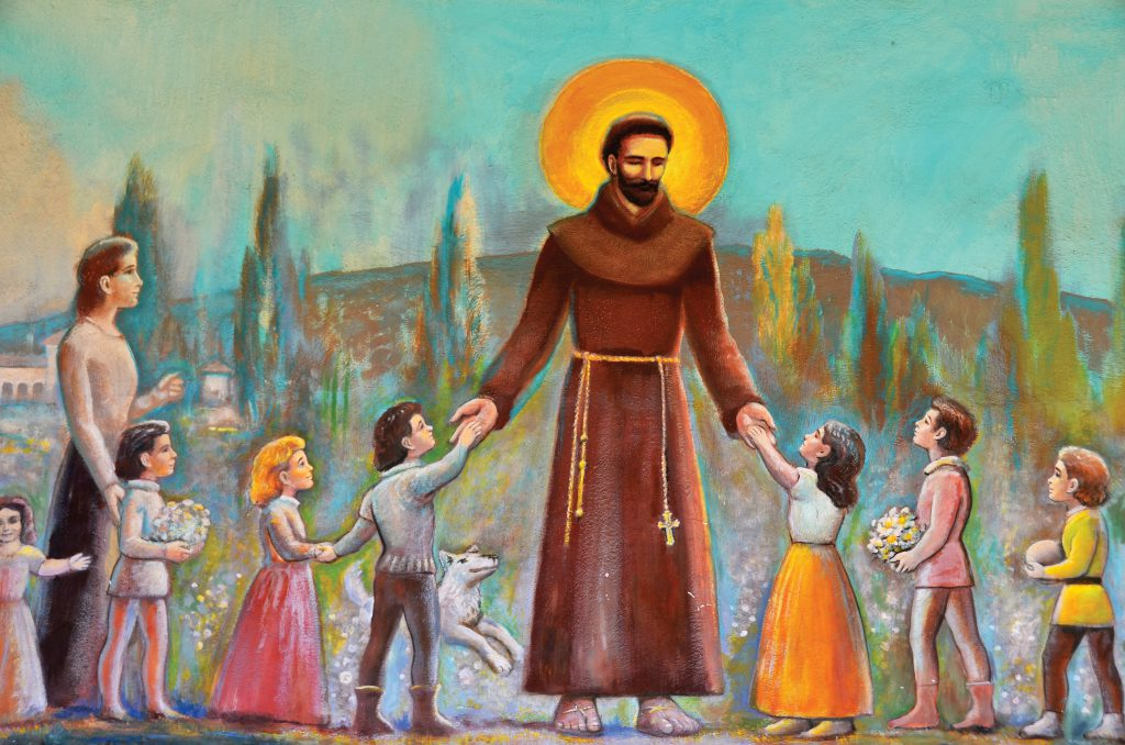 Living like St. Francis of Assisi