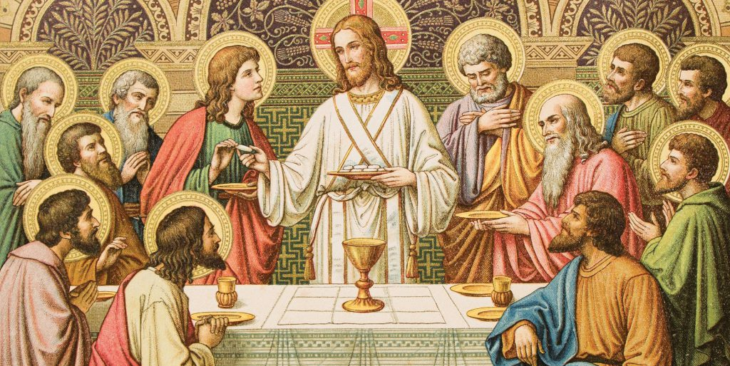 The Mass as a holy meal