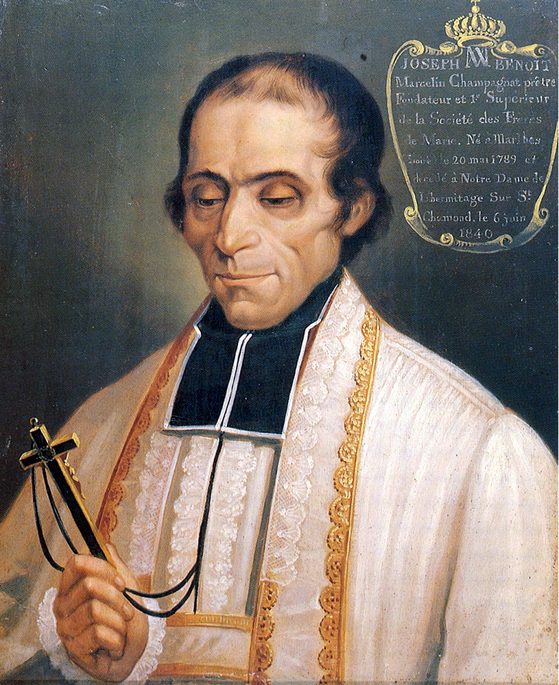 St. Marcellin Joseph Benoit Champagnat, patron of education and teachers