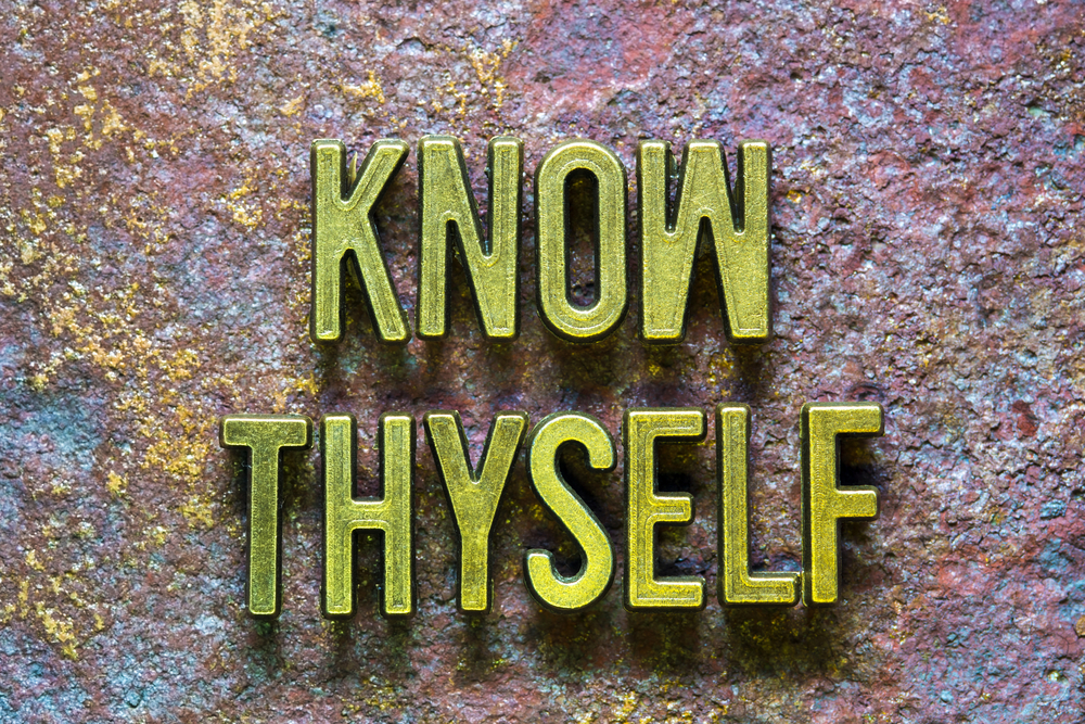 Know thyself • Breaking open the word